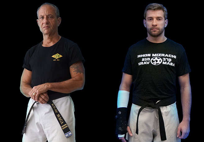 Krav Maga Instructors Frank Colon & Peter Tuznik
