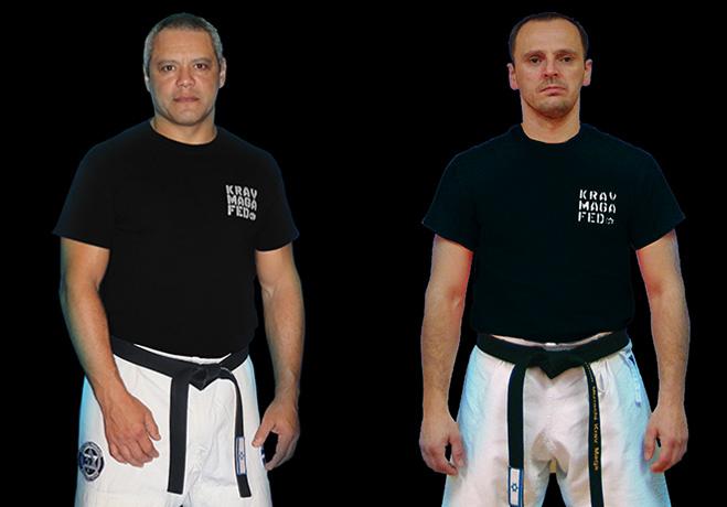 Krav Maga Instructors Juan Berrios & Vladimir Zolottev