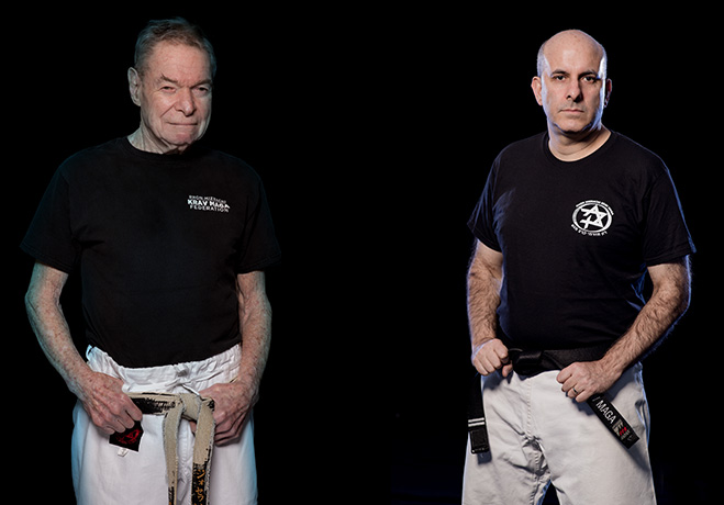 Krav Maga Instructors Marvin Josephson & Dror Bikel