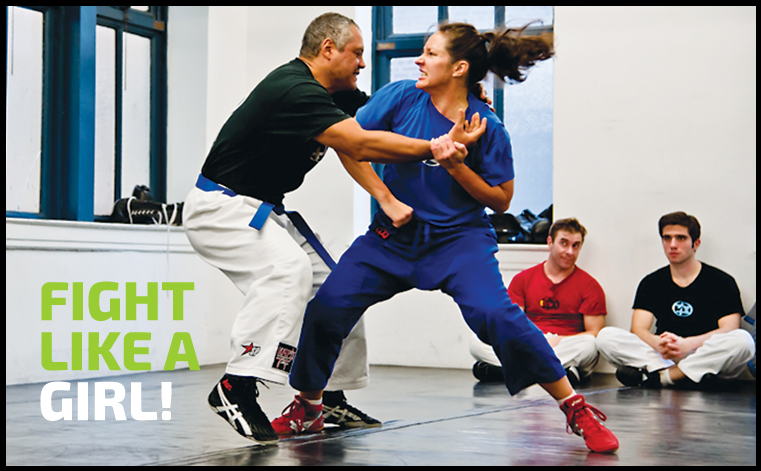Womens Self Defense Classes at Krav Maga New York City